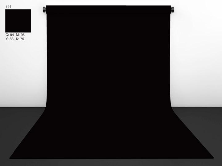 Papírové pozadí Black (černá) 2,72 x 11m , CI background