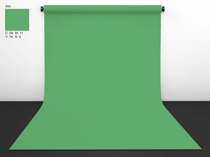 Papírové pozadí Chromagreen (klíčovací zelená) 2,72 x 11m , CI background