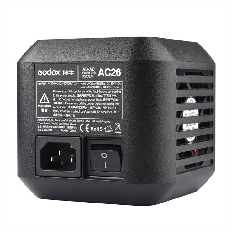 Napájecí adaptér AC26 pro blesky GODOX AD600Pro