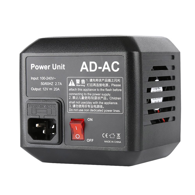 Napájecí AC adaptér pro blesky GODOX AD600B a AD600BM
