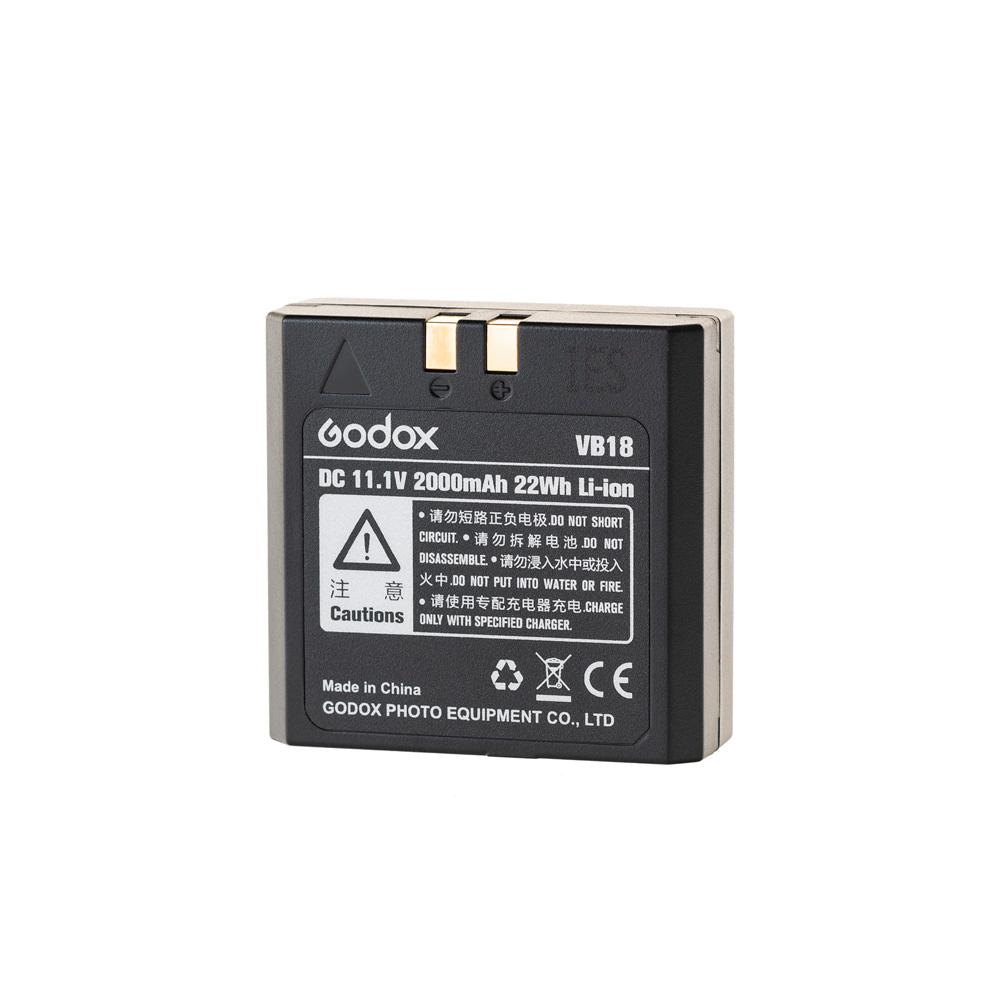 Náhradní baterie VB18 11.1V 2000mAh pro Godox V850II a V860II