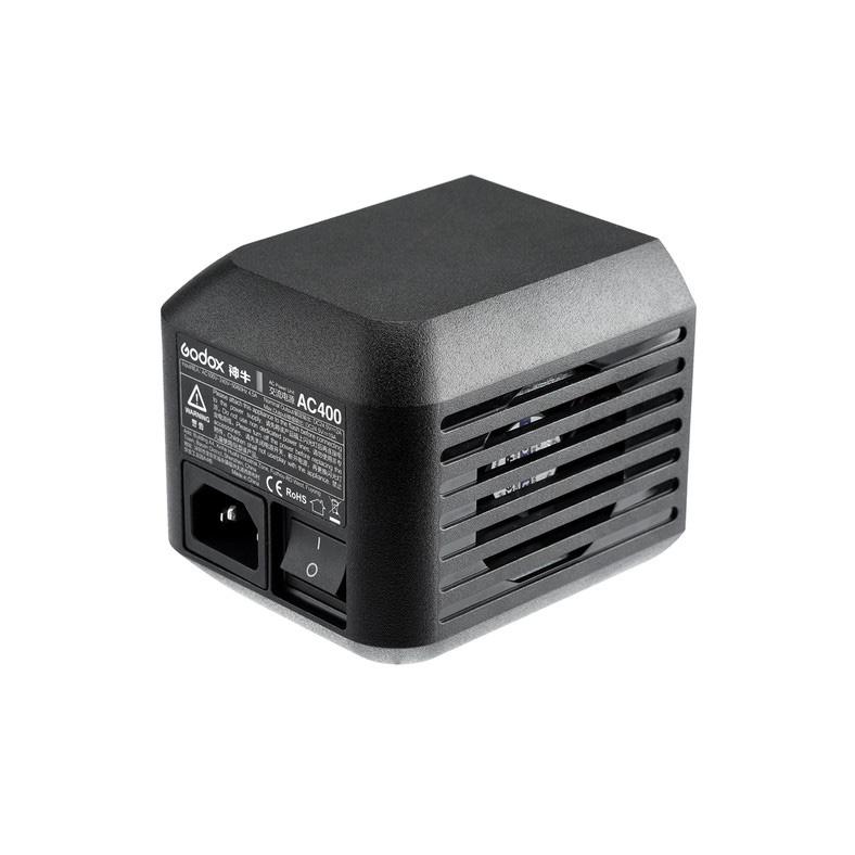 Napájecí AC adaptér AC400 pro blesky GODOX AD400Pro